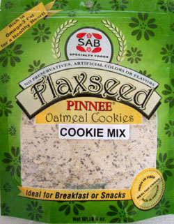 Flaxseed Oatmeal Cookie Mix