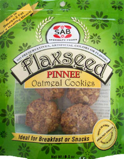 Flaxseed Oatmeal Cookies