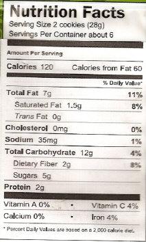 Organic Flaxseed Oatmeal Cookie Mix